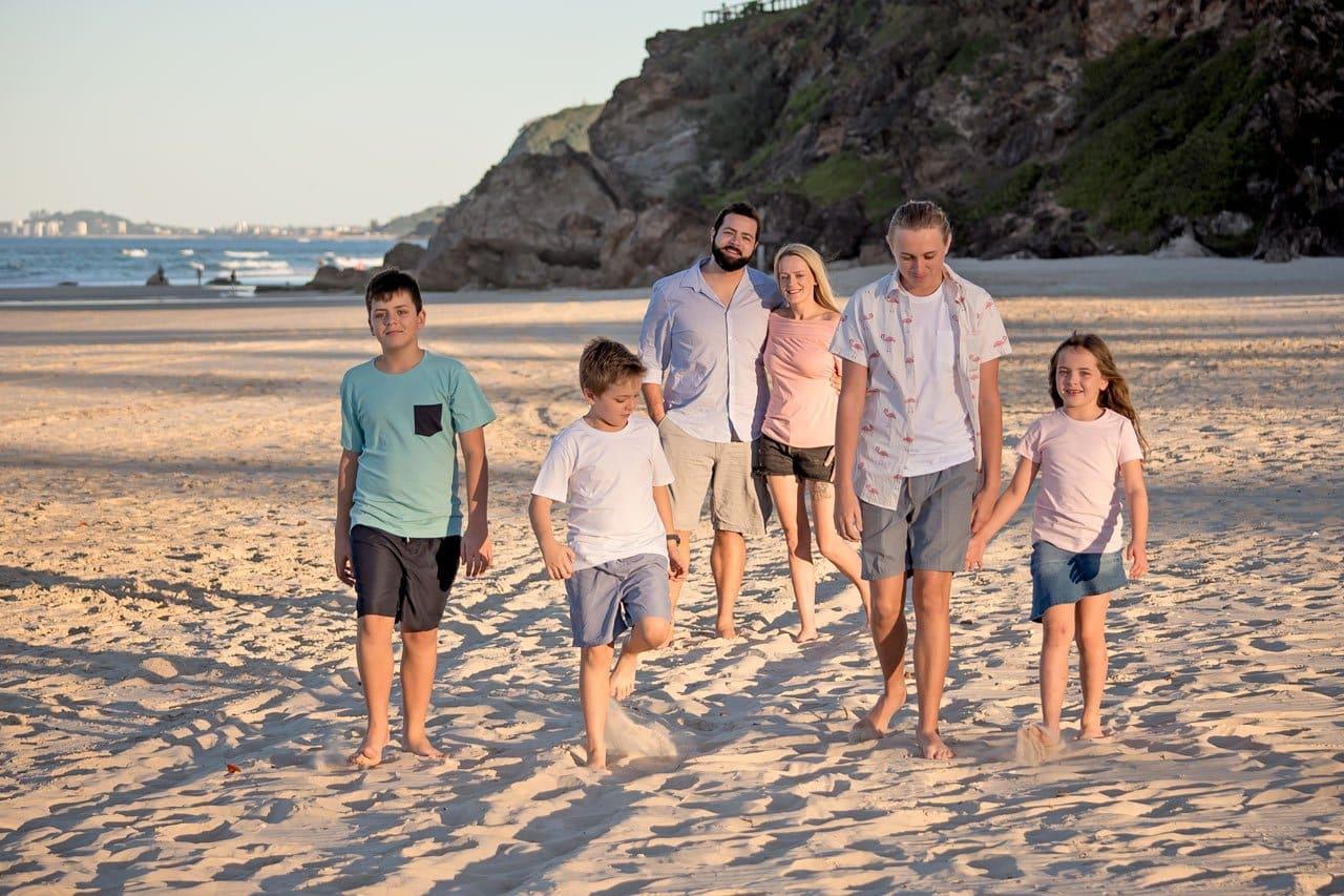 Iler Family Gold Coast Photo Shoot