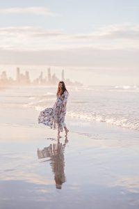 Gold Coast Model Beach Photo Shoot